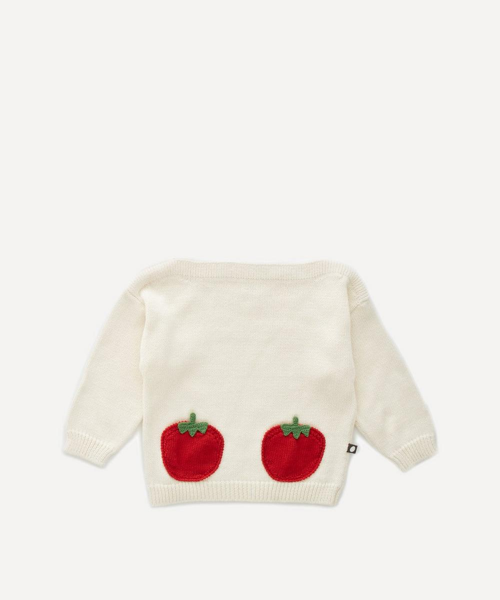 Oeuf NYC - Tomato Pocket Sweater 4-8 Years