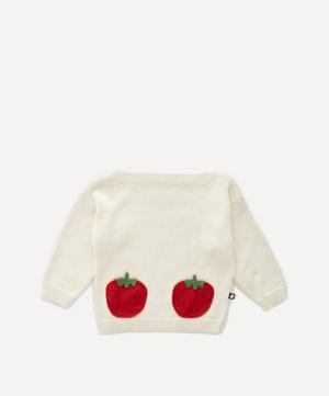 Tomato Pocket Sweater 4-8 Years