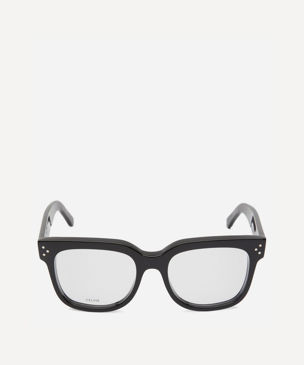 Celine - Large Square-Frame Acetate Optical Glasses