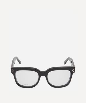 Large Square-Frame Acetate Optical Glasses