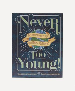 Never Too Young Book