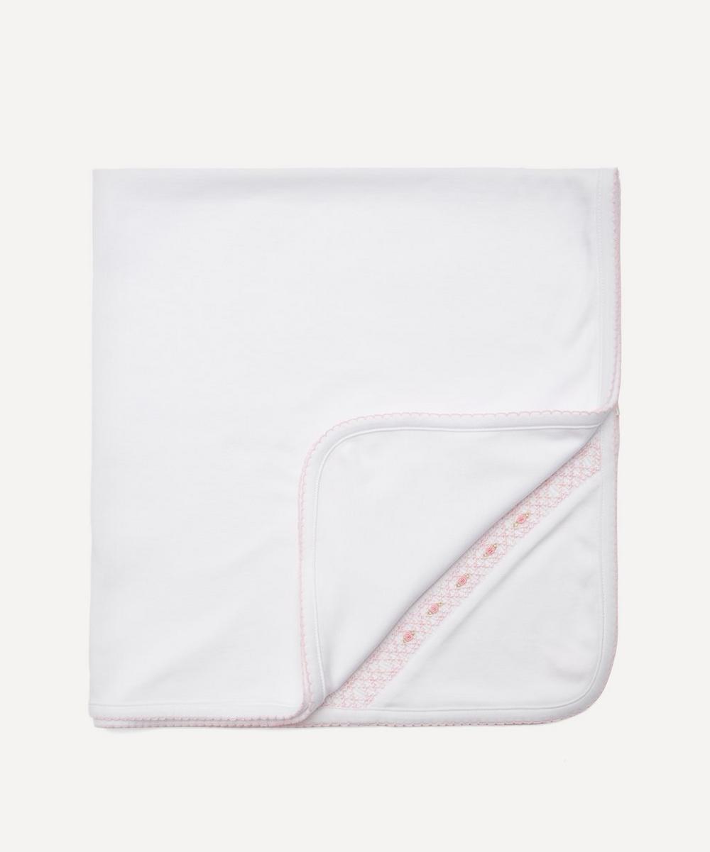 Kissy Kissy - CLB Summer 20 Hand-Smocked Blanket