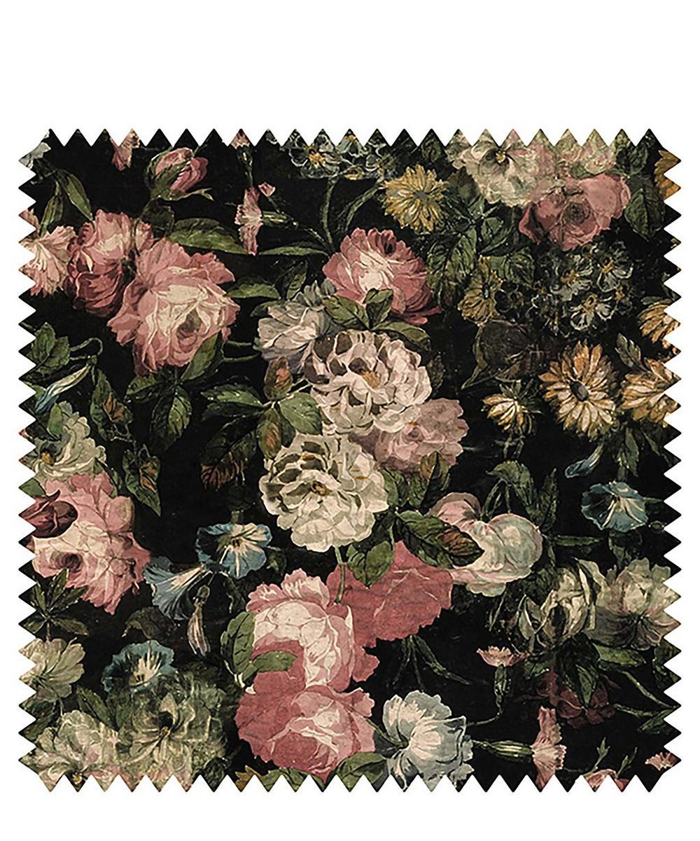 House of Hackney - Midnight Garden Velvet Fabric Sample Swatch