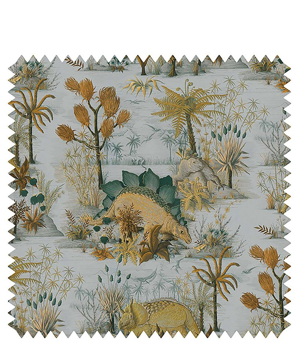 House of Hackney - Dinosauria Cotton Linen Fabric Sample Swatch