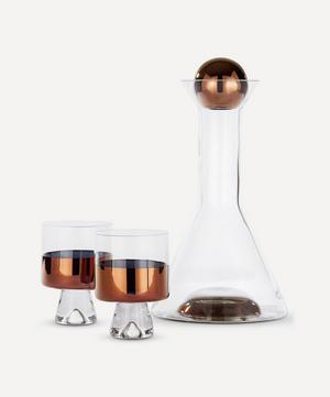 Tank Copper Wine Set