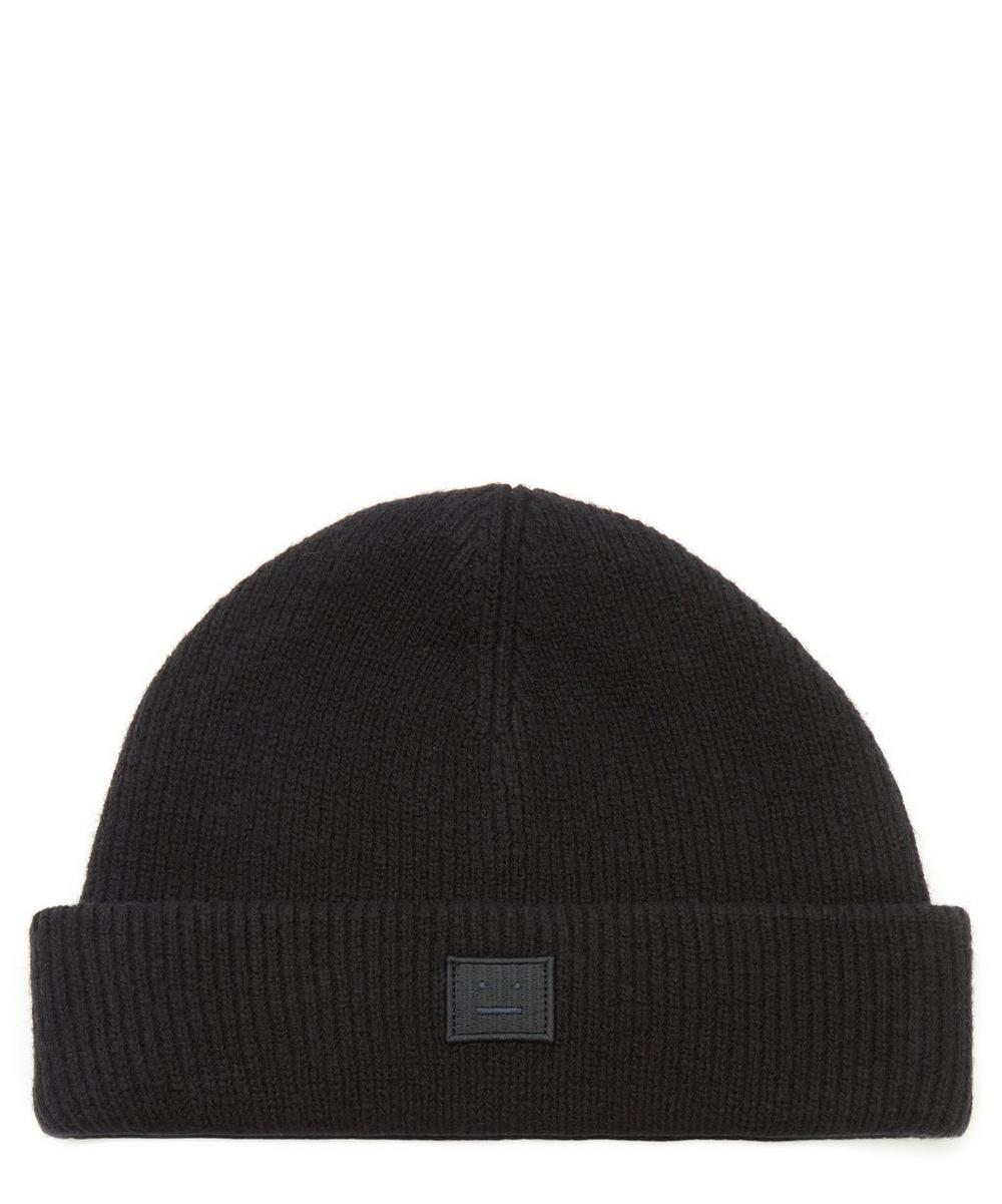 Acne Studios - Face Wool-Blend Beanie Hat