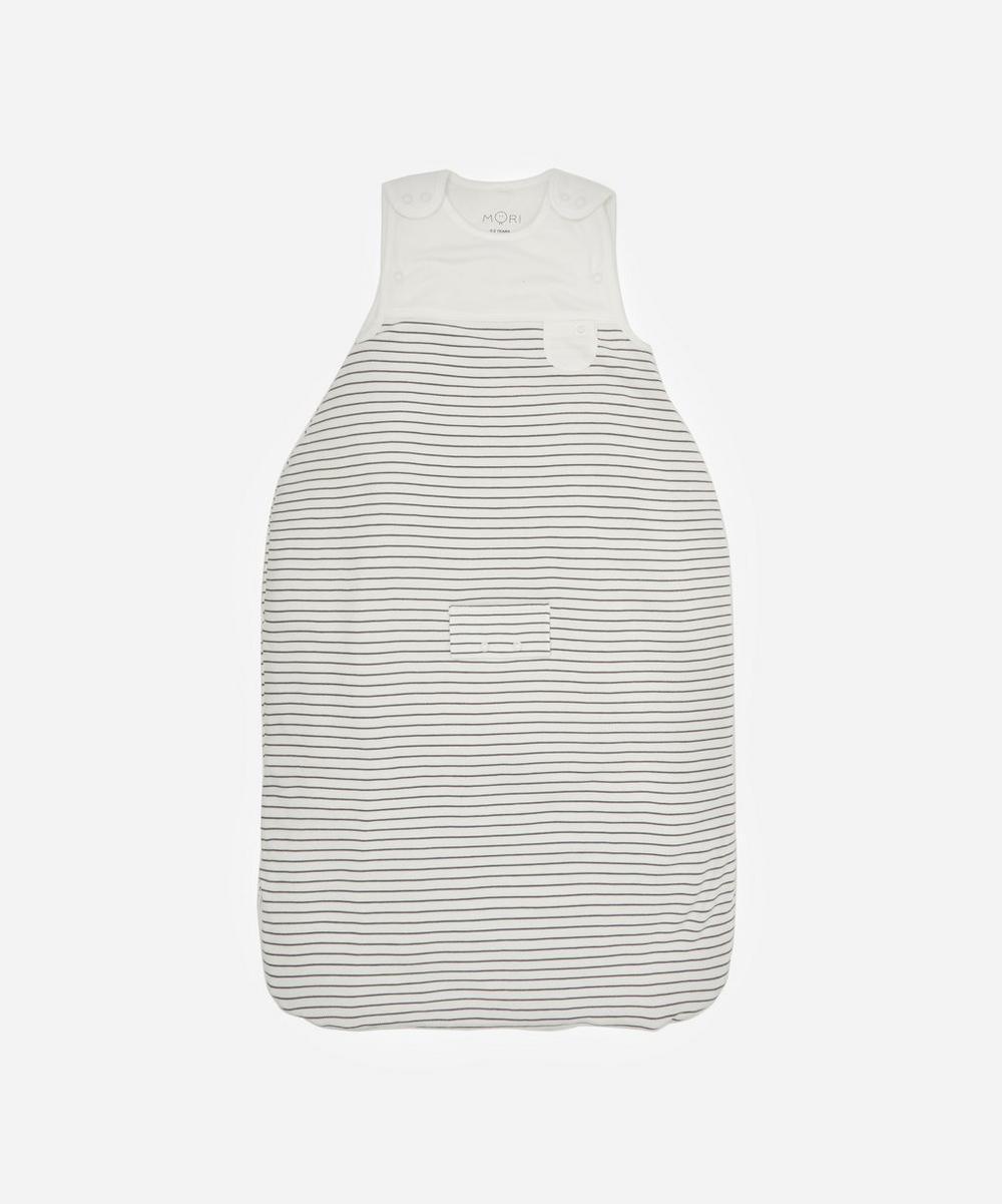 MORI - 2.5 Tog Stripe Sleeping Bag 0-2 Years