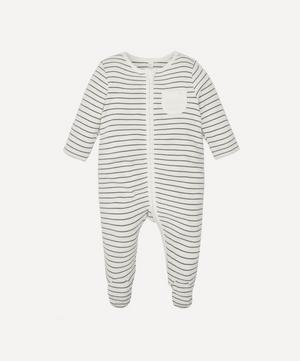 Stripe Zip-Up Sleepsuit 0-24 Months