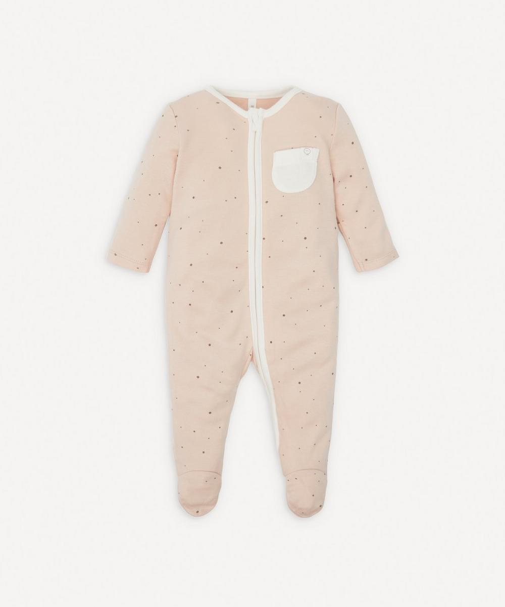 MORI - Stardust Zip-Up Sleepsuit 0-24 Months