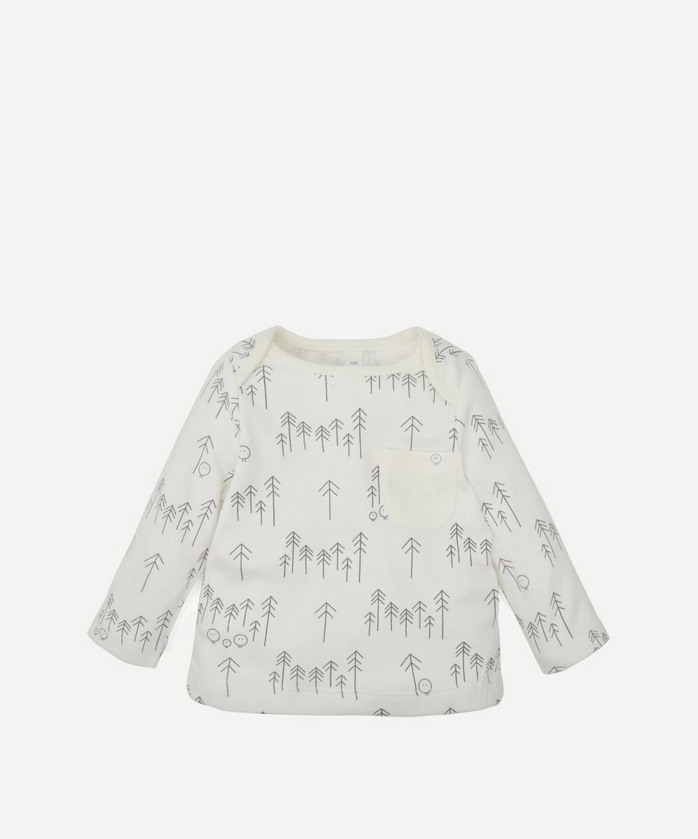 MORI - Everyday Long-Sleeved Forest T-Shirt 0-24 Months
