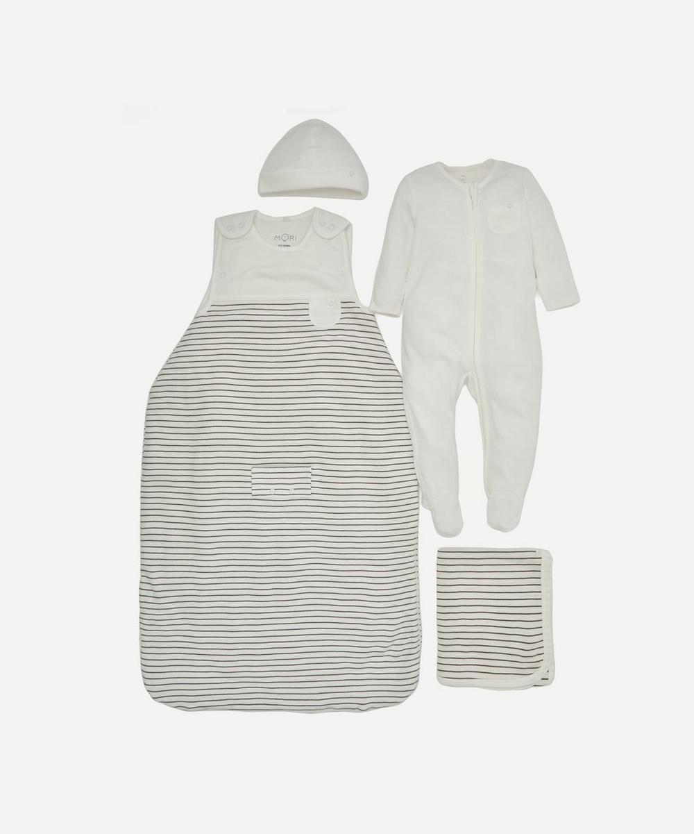 MORI - Stripe Clever Sleep Set 0-6 Months