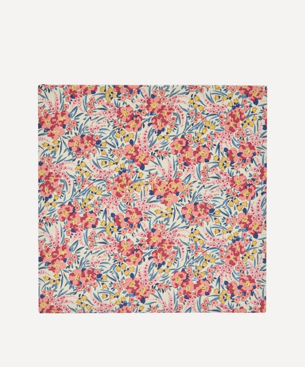 Liberty London - Swirling Petals Print Cotton Square Guest Book