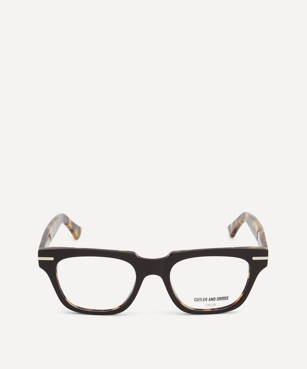 Cutler And Gross - 1355-04 Square-Frame Optical Glasses