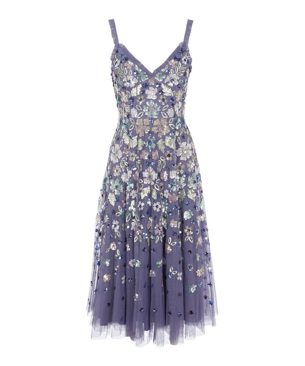 Needle & Thread - Wildflower Sequin Midi-Dress