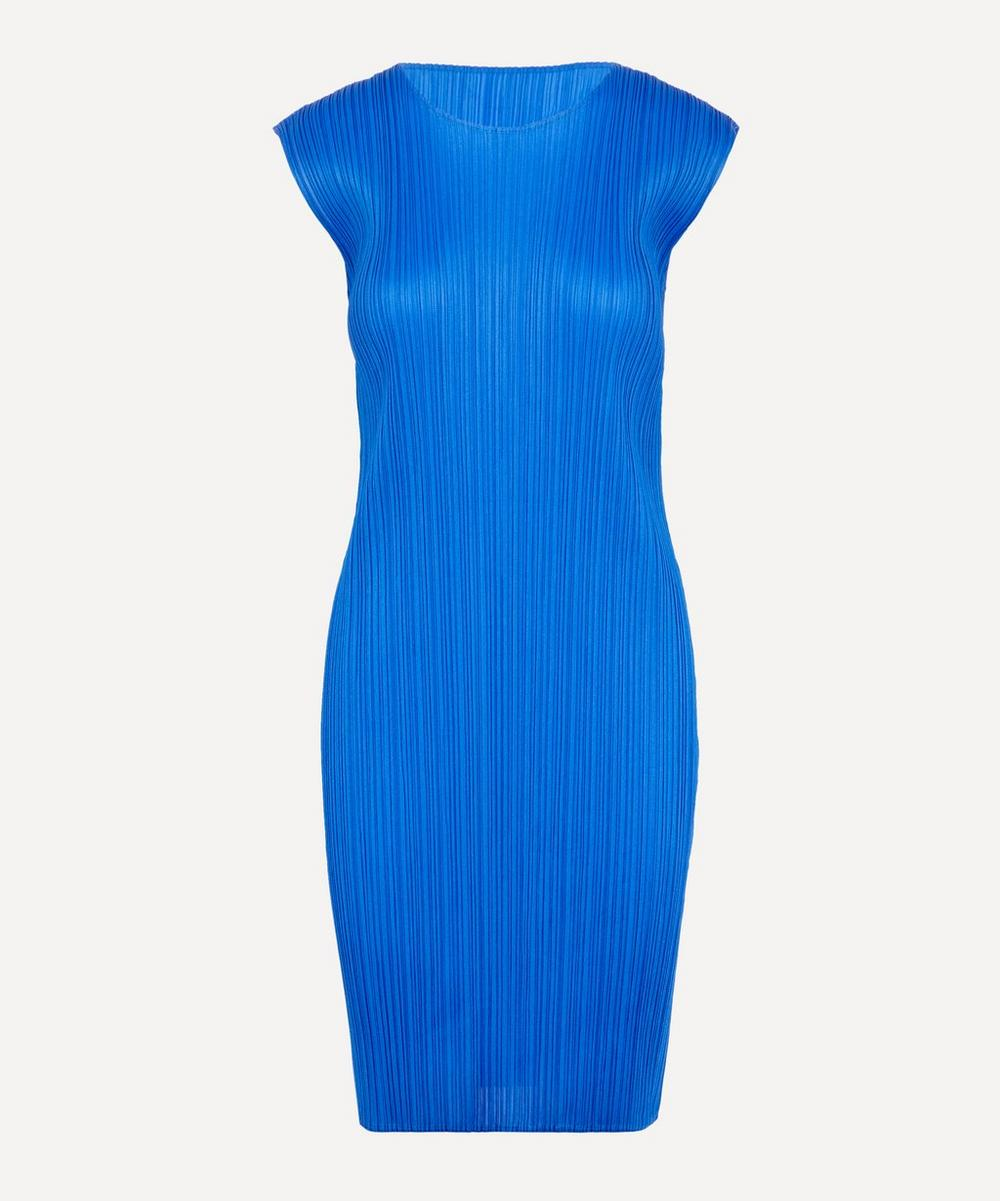 Pleats Please Issey Miyake - New Colourful Basics Cap Sleeve Dress