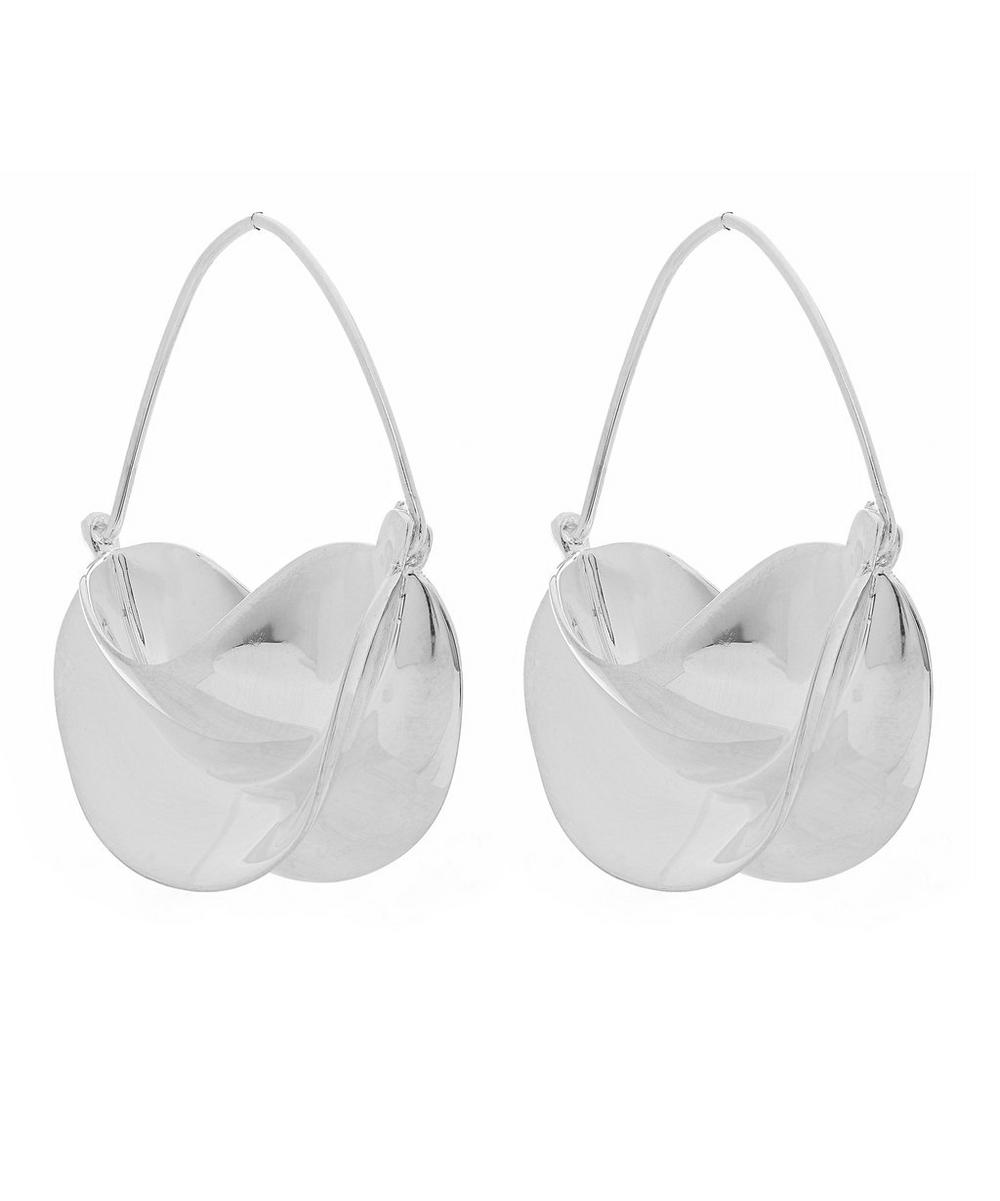 Anissa Kermiche - Silver-Plated Brass Paniers d'Argent Earrings