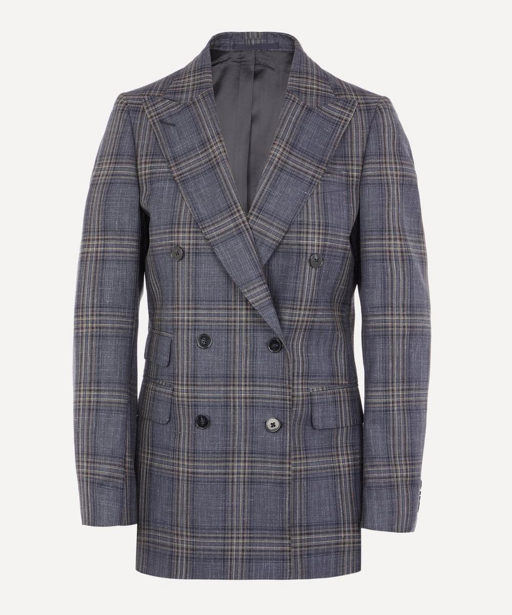 Officine Générale - Manon Double-Breasted Check Blazer
