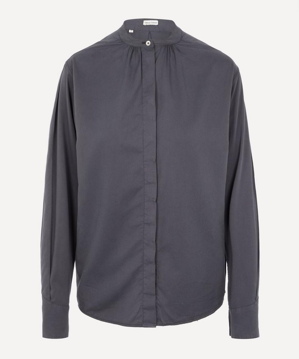 Officine Générale - Paloma Grandad Collar Shirt