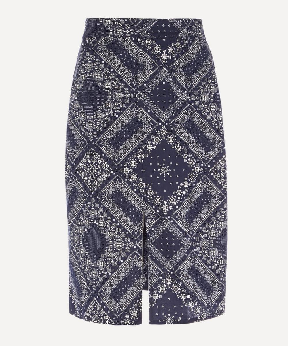 Officine Générale - Desire Bandana Print Skirt