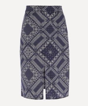Desire Bandana Print Skirt
