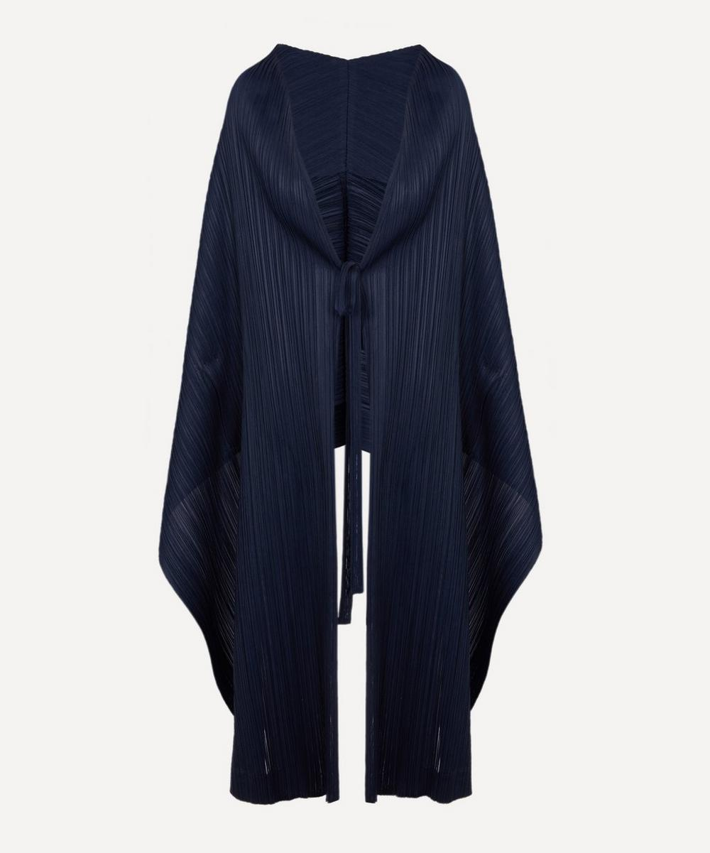 Pleats Please Issey Miyake - Monthly Colours Waterfall Cardi