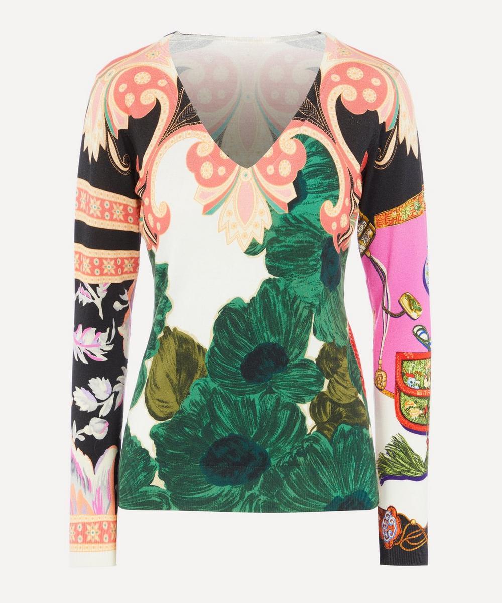Etro - Floral Knit Jumper