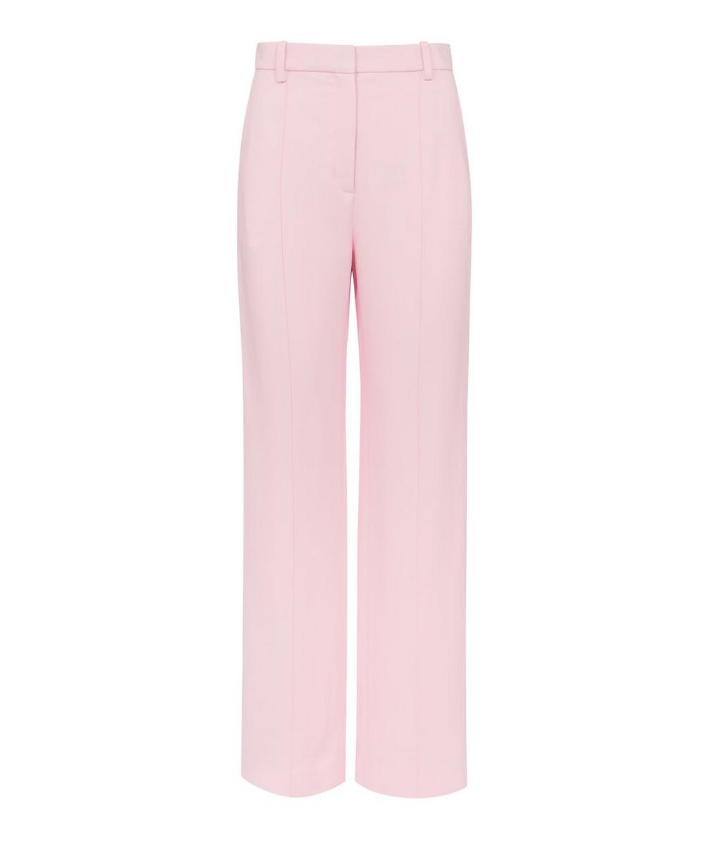 Rosetta Getty - Pintuck Straight-Leg Trousers