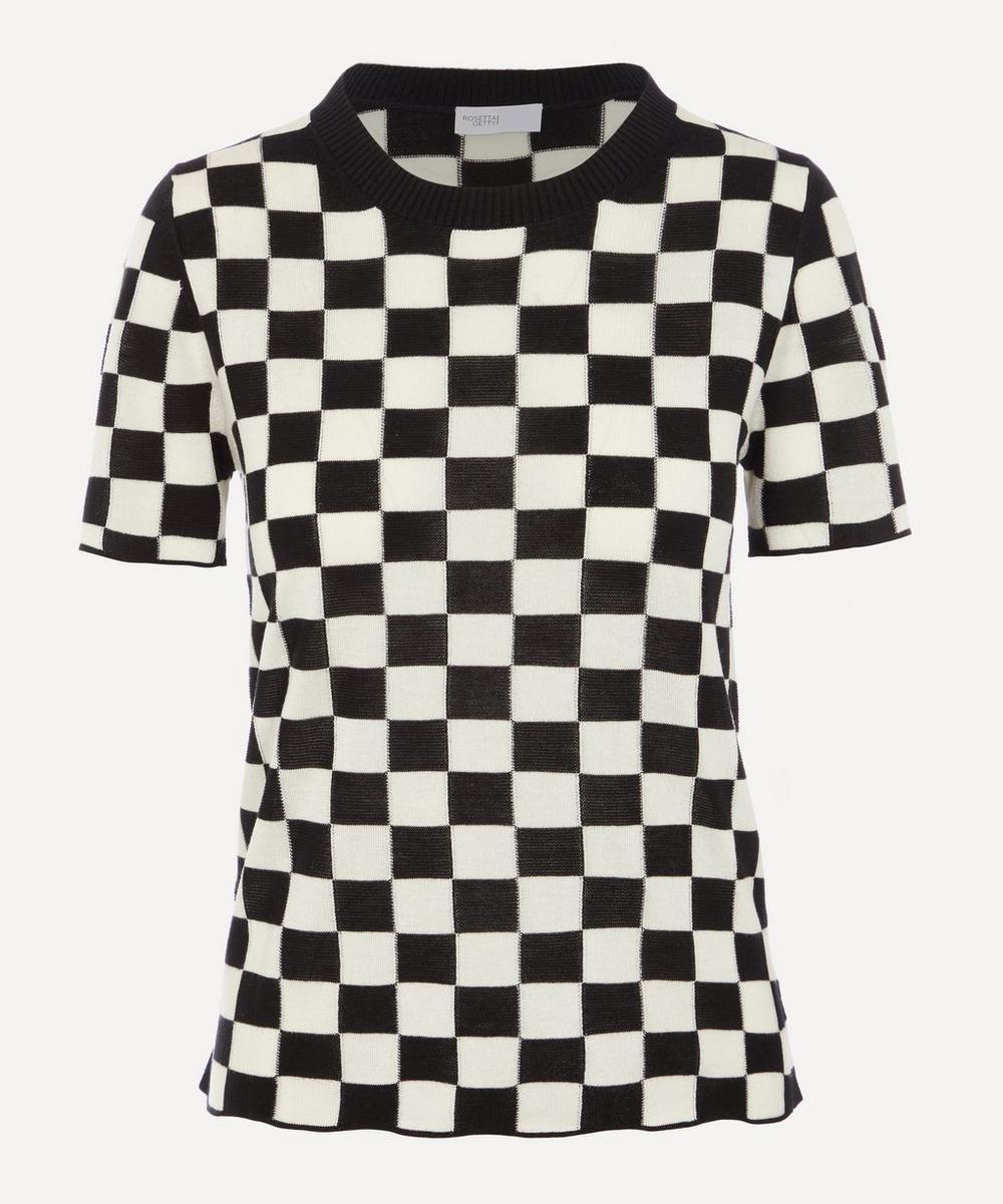 Rosetta Getty - Checkerboard Pull Over