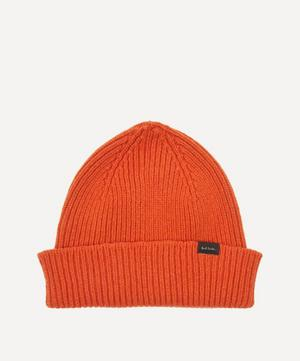 Ribbed Cashmere-Blend Beanie Hat