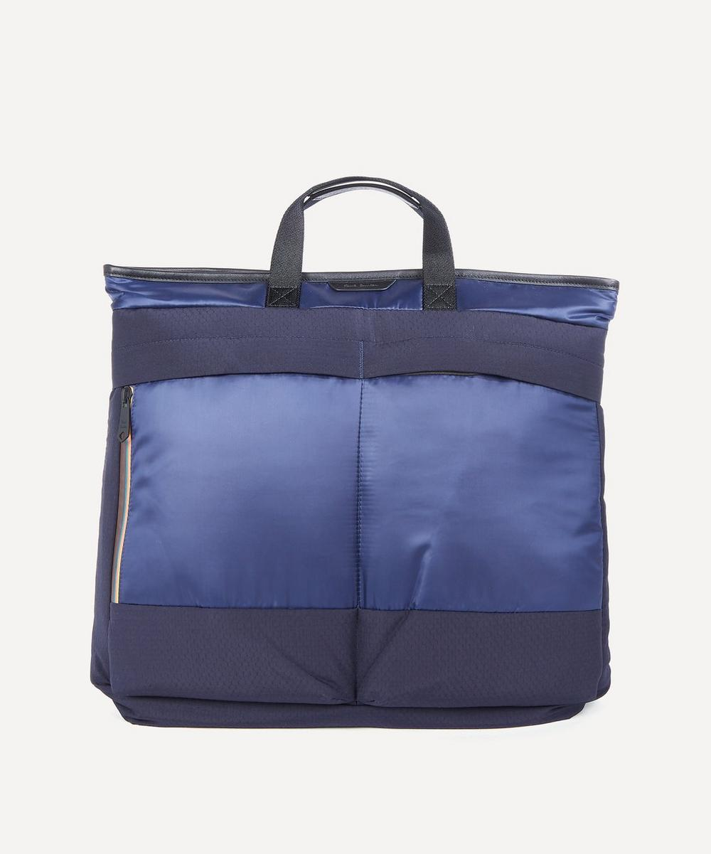 Paul Smith - Two-in-One Canvas and Ripstop Tote Bag