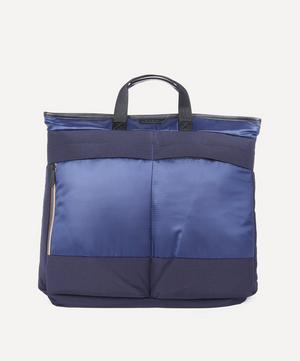 Two-in-One Canvas and Ripstop Tote Bag