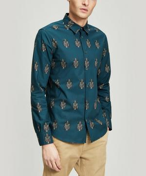 Beetle-Print Shirt