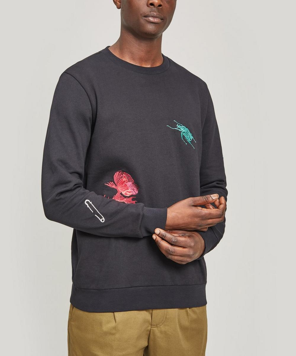 Paul Smith - Embroidered Patch Sweater