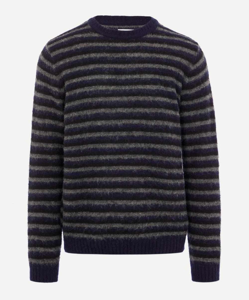 Norse Projects - Sigfred Brushed Stripe Knit