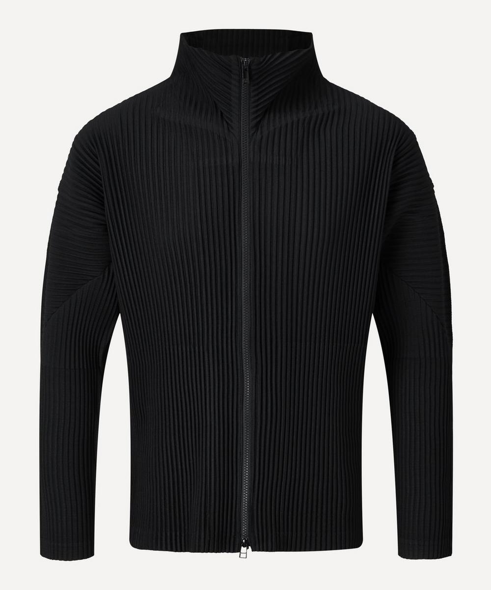 Homme Plisse Issey Miyake - Core Zip-Up High-Neck Jumper