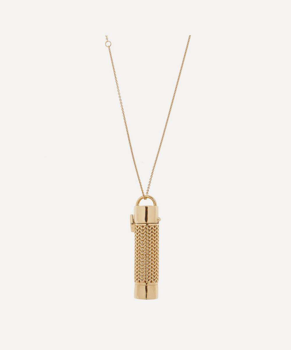 Veronique Gabai - Gold Plated Vermeil Silver Thread Chain