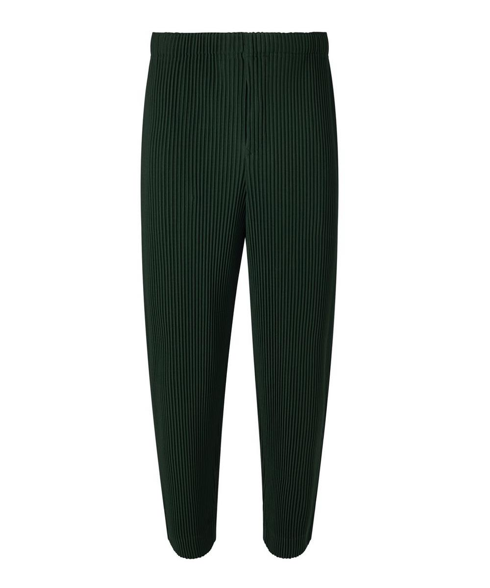 Homme Plisse Issey Miyake - Straight-Fit Cropped Trousers