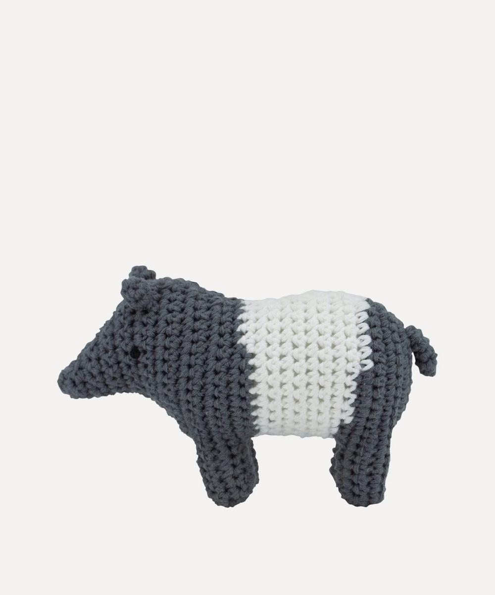 Sebra - Crochet Tapir Rattle
