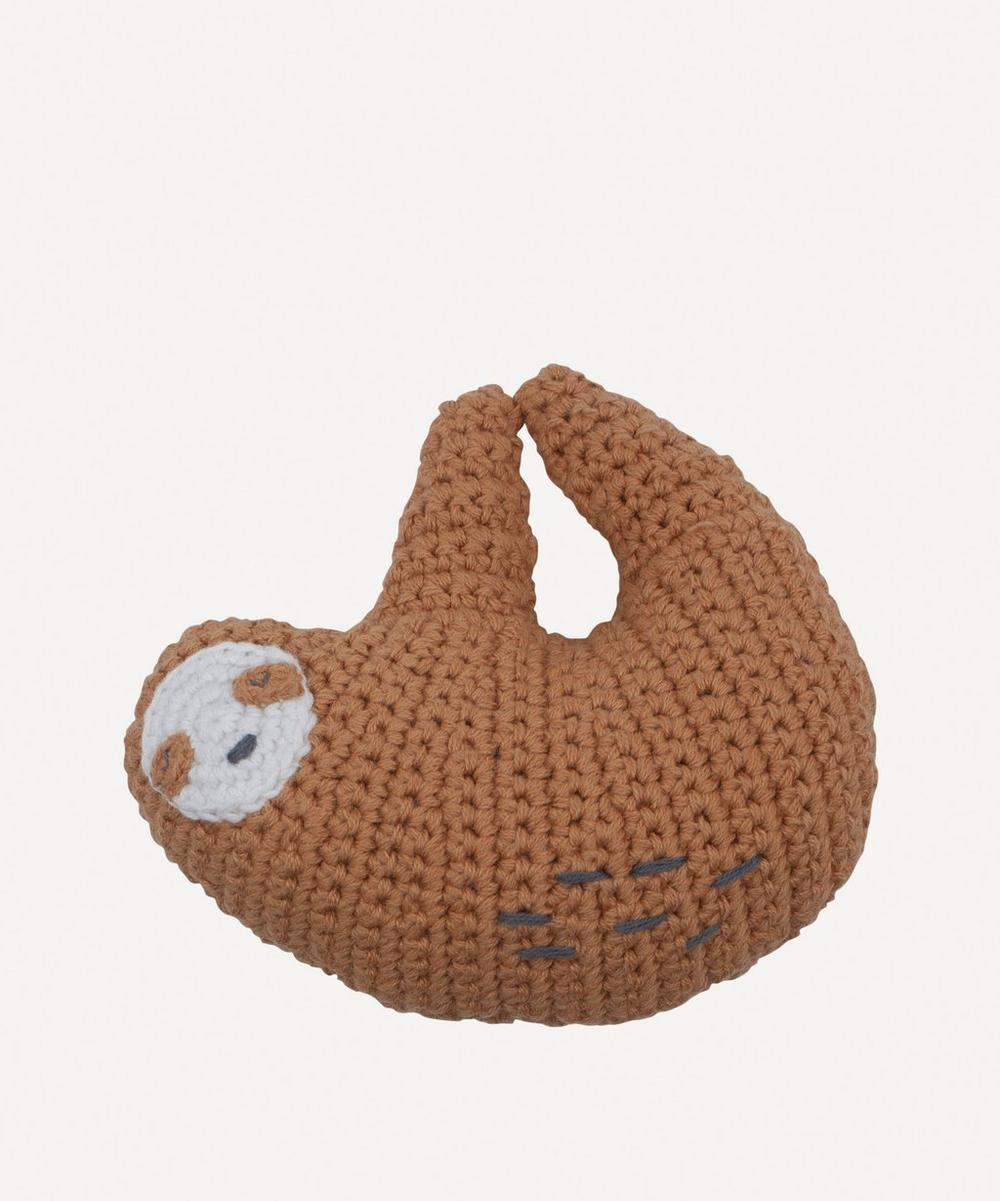 Sebra - Crochet Sloth Rattle