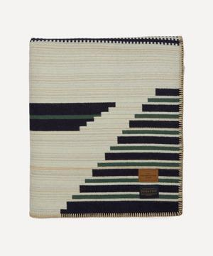 Early Navajo Sarape Wool-Blend Blanket