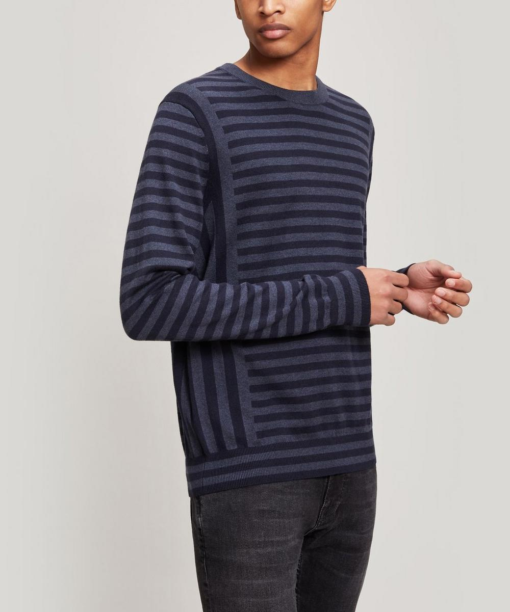 PS Paul Smith - Striped Wool-Blend Sweater