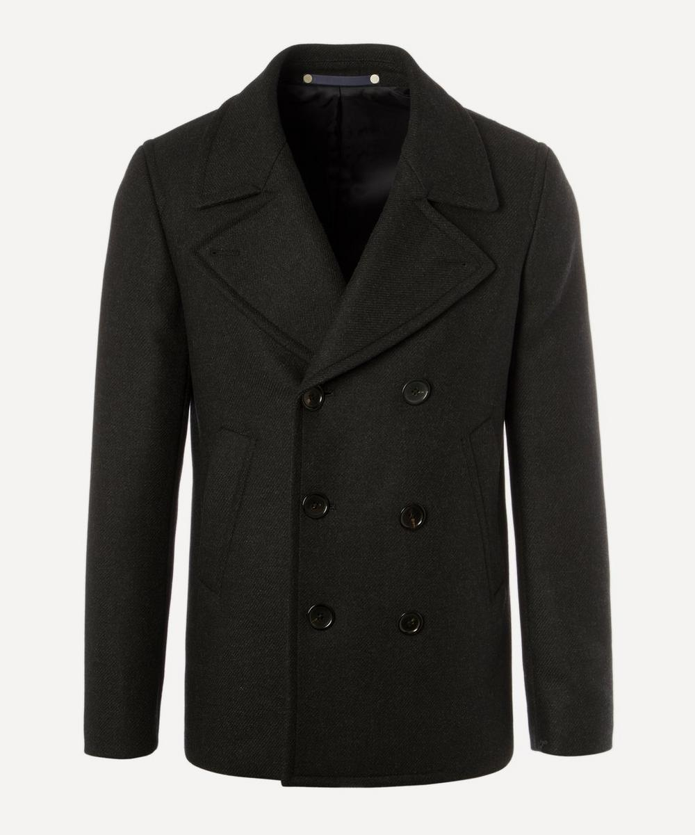Paul Smith - Short Wool and Cashmere Peacoat