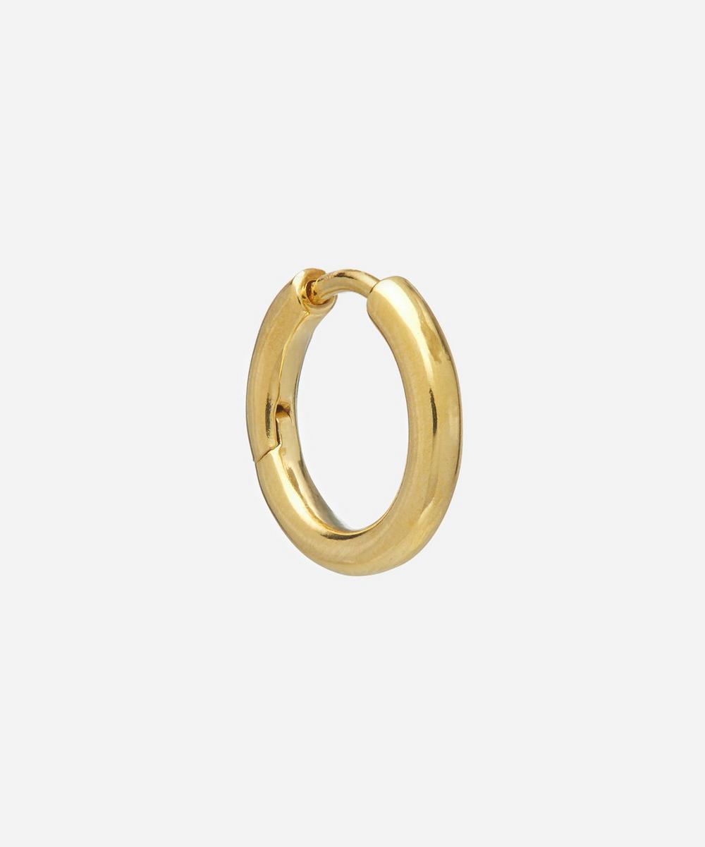 Maria Black - Gold-Plated Polo Huggie Hoop Earring