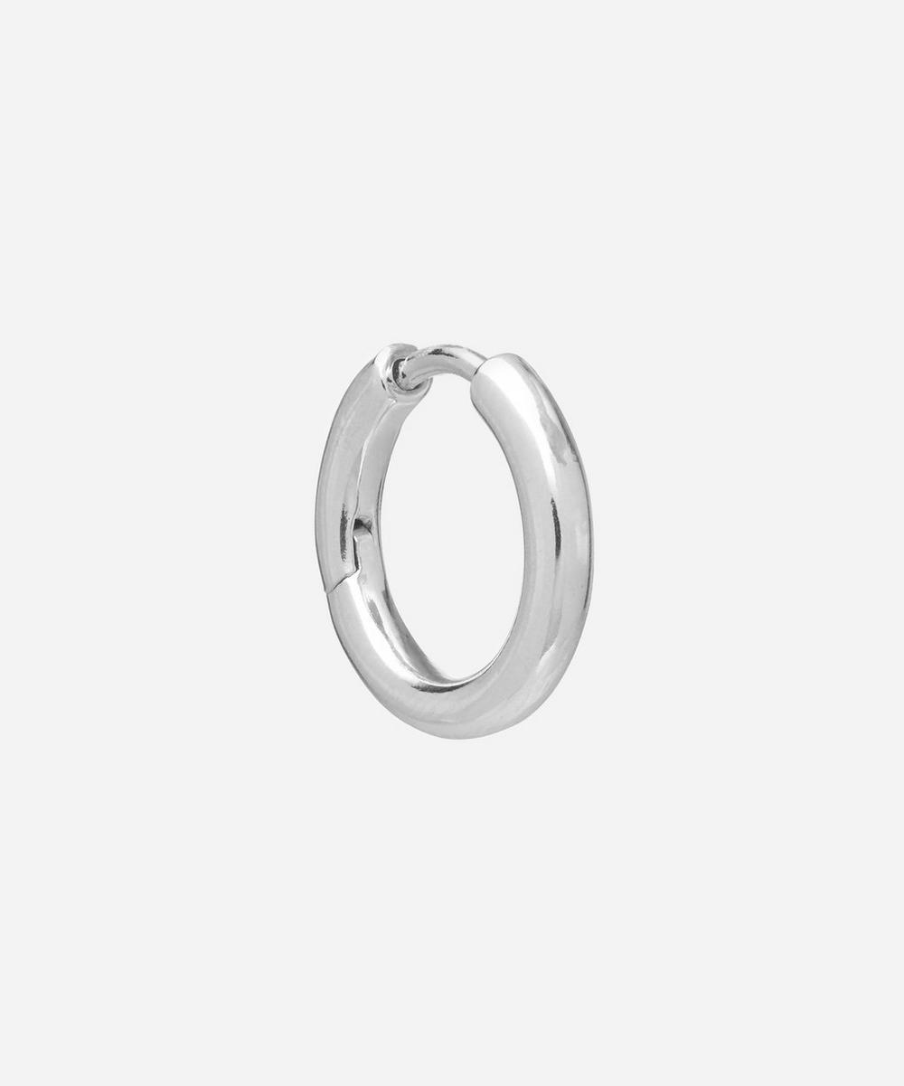 Maria Black - Sterling Silver Polo Huggie Hoop Earring