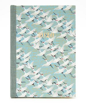 Large Weekly White Cranes Diary 2020