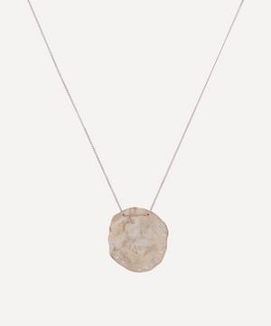 Gold Izia Diamond Pendant Necklace
