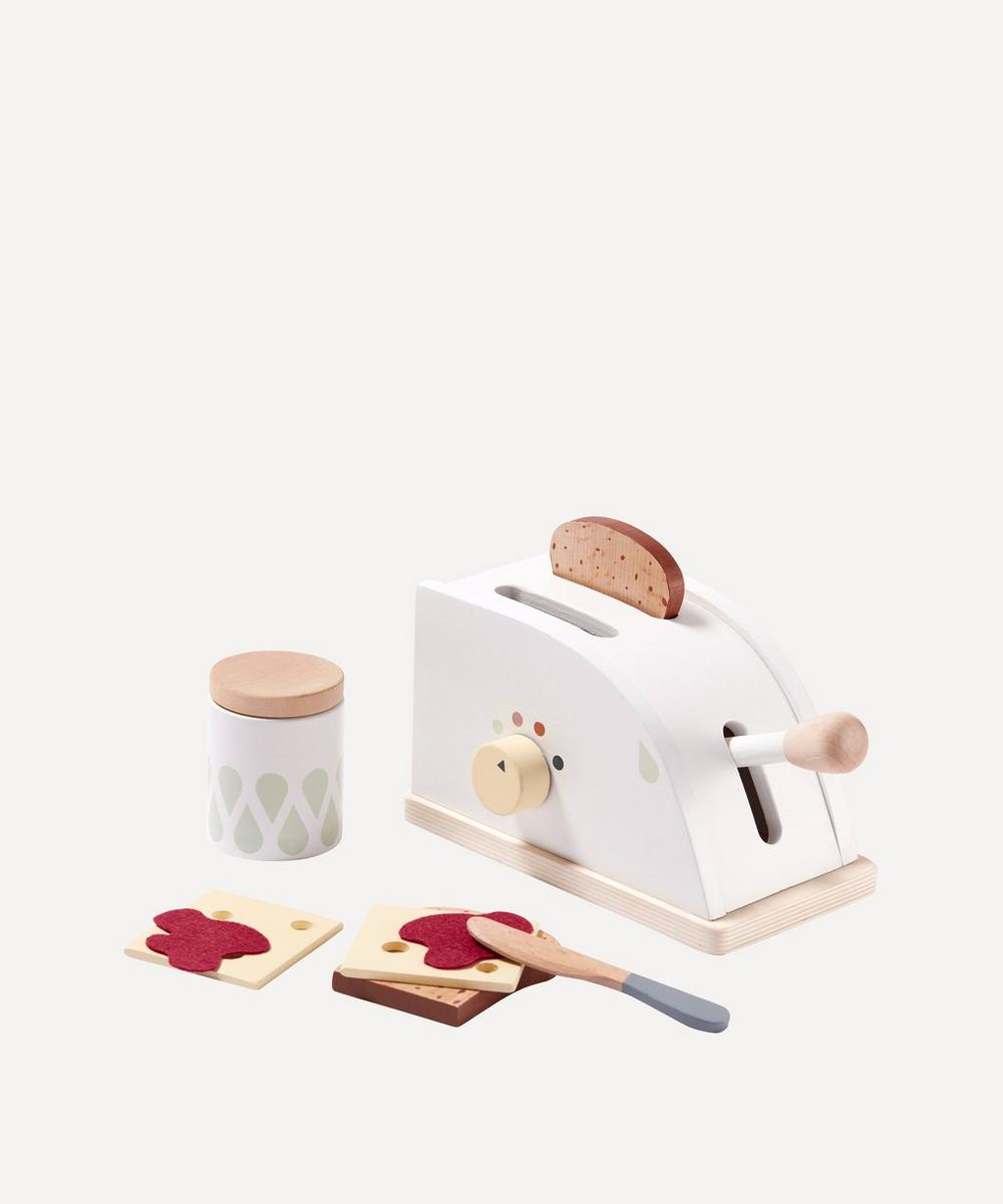 Kid's Concept - Wooden Toaster Set