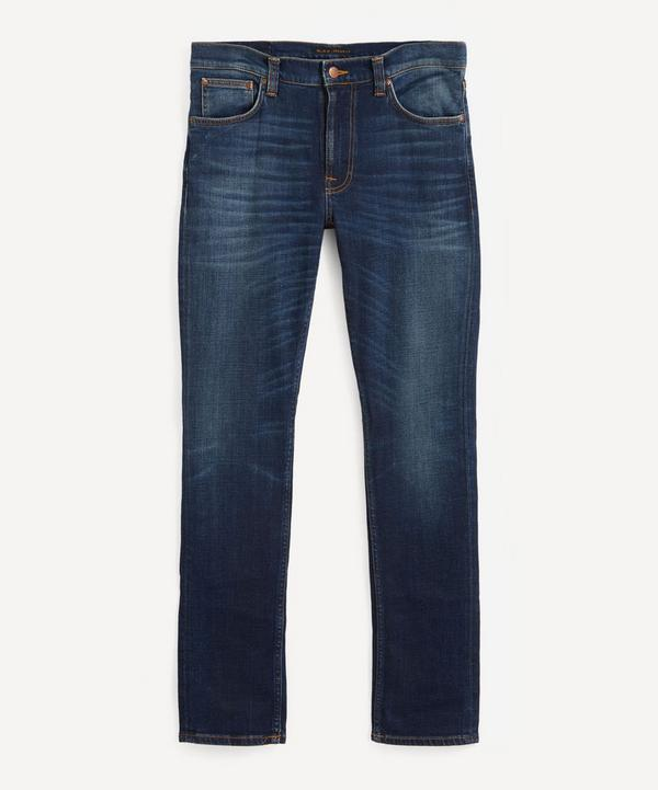 Nudie Jeans - Lean Dean Dark Deep Worn Slim Tapered Jeans