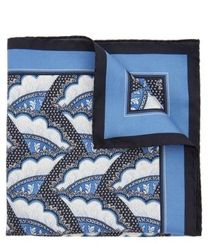Cecil Printed Silk Pocket Square