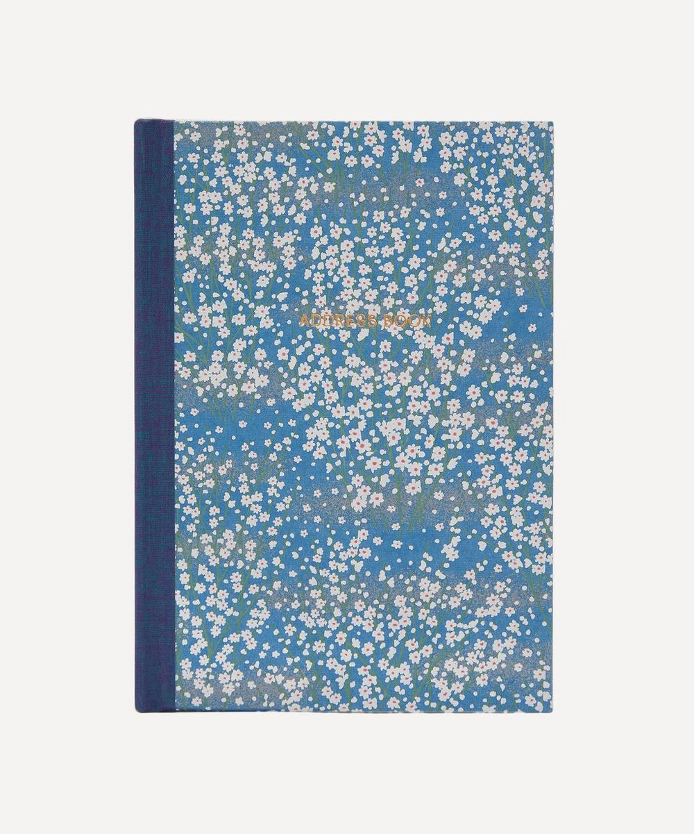 Esmie - White Blossom Desk Address Book
